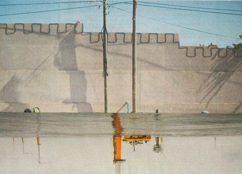 Impressies bij de fotomontages van Jan Swart